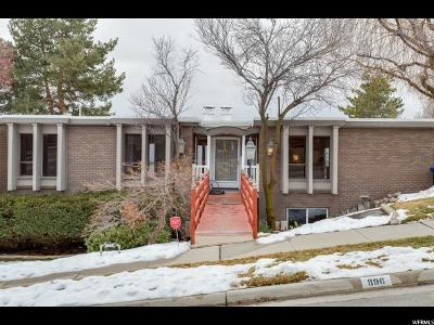 Salt Lake City Single Family Home For Sale: 896 E 18th Ave