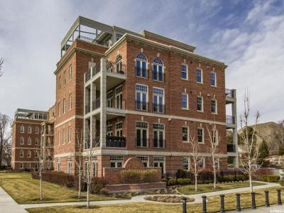 Salt Lake City Condo For Sale: 400 E Capitol Park Ave #102