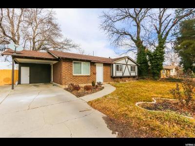Sandy Single Family Home For Sale: 711 E 8080 S