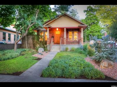 Salt Lake City Single Family Home For Sale: 165 S 1100 E