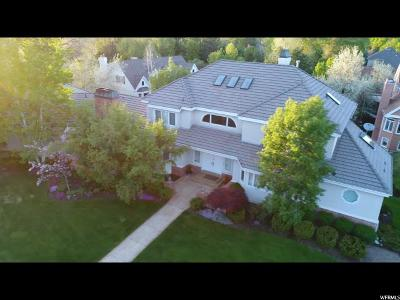 Cottonwood Heights Single Family Home For Sale: 7754 S Plum Creek Ln
