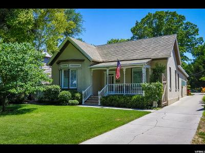 Salt Lake City Single Family Home For Sale: 723 S 900 E