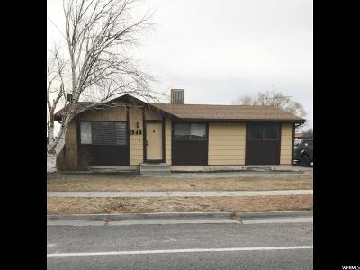 Price UT Single Family Home For Sale: $159,000