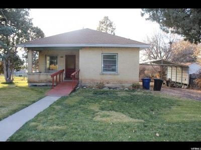 Single Family Home For Sale: 375 S 200 W