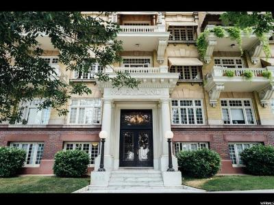 Salt Lake City Condo For Sale: 839 E South Temple S #208