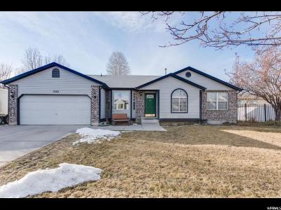 West Jordan Single Family Home For Sale: 8368 S McGregor Ln