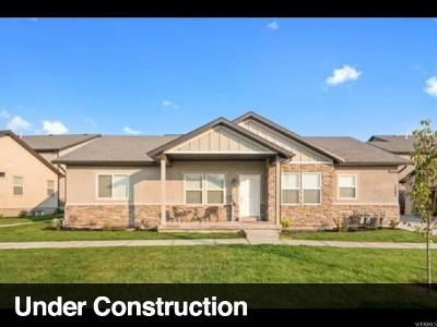 Eagle Mountain Townhouse For Sale: 3814 E Cunninghill Dr