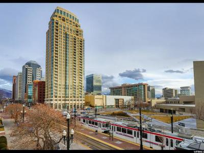 Salt Lake City Condo For Sale: 99 W South Temple S #701