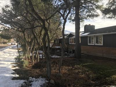 Ogden Single Family Home For Sale: 2393 E Eastwood Blvd