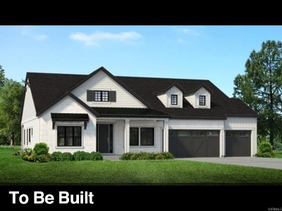 Cottonwood Heights Single Family Home For Sale: 9284 S Monet Ln E #LOT318