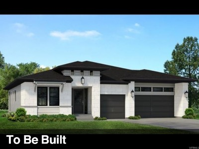 Cottonwood Heights Single Family Home For Sale: 9314 S Trouville Ln E #LOT329