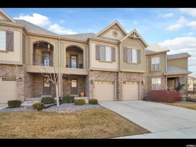 Eagle Mountain Townhouse For Sale: 9279 N Prairie Dunes Way E