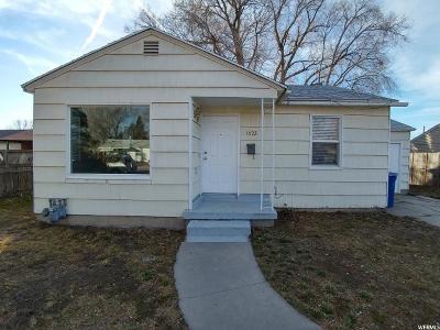 Salt Lake City UT Single Family Home For Sale: $195,000
