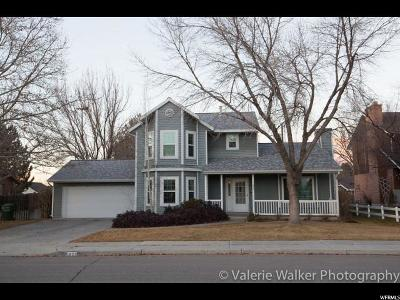 Provo Single Family Home For Sale: 1622 W 1400 N