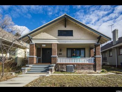 Salt Lake City UT Single Family Home For Sale: $425,000