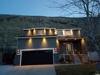 Draper Single Family Home For Sale: 306 E Steep Mountain Dr S