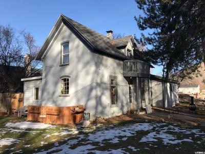 Logan Single Family Home For Sale: 795 E 200 N