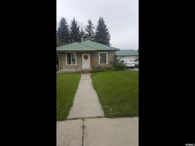 Preston Single Family Home For Sale: 283 W Oneida S