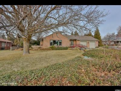 Holladay Single Family Home For Sale: 2069 E Marrwood Dr S