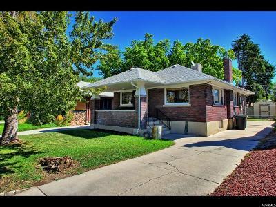 Salt Lake City UT Single Family Home For Sale: $285,000
