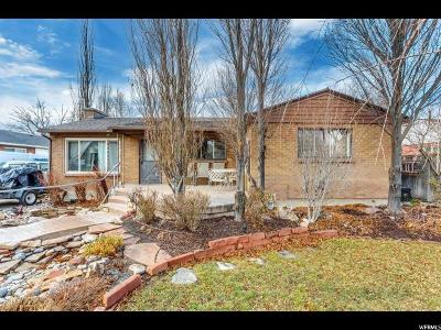 Holladay Single Family Home For Sale: 4280 S Vegas Way E