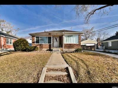 Salt Lake City UT Single Family Home For Sale: $324,900