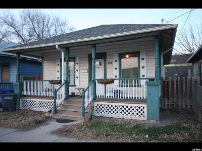 Salt Lake City UT Single Family Home For Sale: $184,900