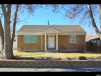 Salt Lake City UT Single Family Home For Sale: $459,000