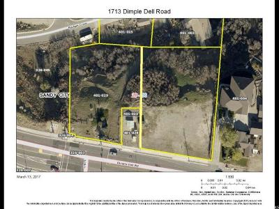 Sandy Residential Lots & Land For Sale: 1725 E Dimple Dell Rd