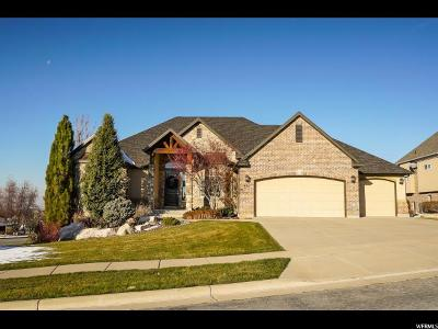 Layton Single Family Home For Sale: 491 N Peregrine Cv