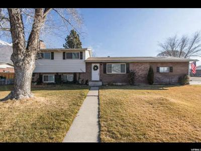 Orem Single Family Home For Sale: 1742 N 645 W