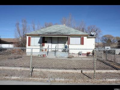 Single Family Home For Sale: 372 W 300 S