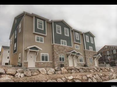 Herriman Townhouse For Sale: 4196 W High Gallery Ct S