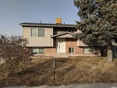 West Jordan Single Family Home For Sale: 5238 W Begonia Way