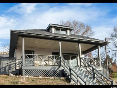 Salt Lake City Single Family Home For Sale: 640 N West Capitol St
