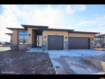 Herriman Single Family Home For Sale: 13669 W Desert Brumby Dr S #1