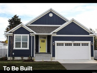 West Jordan Single Family Home For Sale: 2928 W Nairn Way S #29