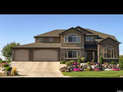 Kaysville Single Family Home For Sale: 864 S Wellington Dr W