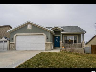 West Jordan Single Family Home For Sale: 6268 W Liza Ln