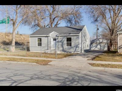 Salt Lake City UT Single Family Home For Sale: $219,900