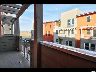 South Jordan Townhouse For Sale: 5003 W Daybreak Pkwy #2-133