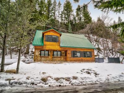 Ogden Single Family Home For Sale: 563 Ogden Canyon