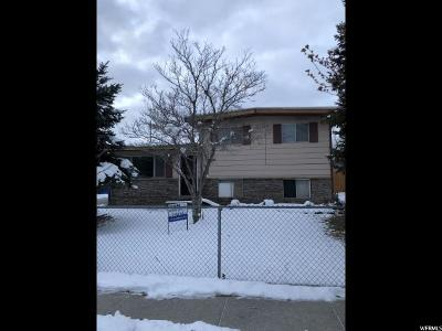 West Jordan Single Family Home For Sale: 2125 W 7560 S