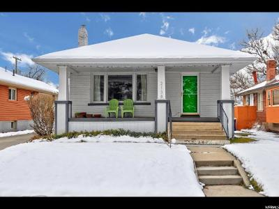 Salt Lake City UT Single Family Home For Sale: $375,000