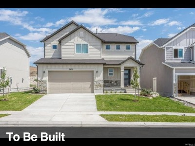 Eagle Mountain Single Family Home For Sale: 9746 N Spring Brg #303