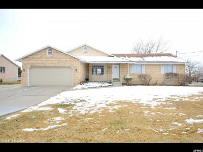 Layton Single Family Home For Sale: 3269 W 1000 N