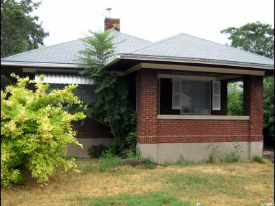 Ogden Single Family Home For Sale: 850 Kershaw St