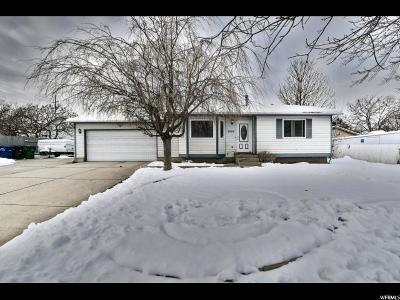 West Jordan Single Family Home For Sale: 8964 S 3820 W
