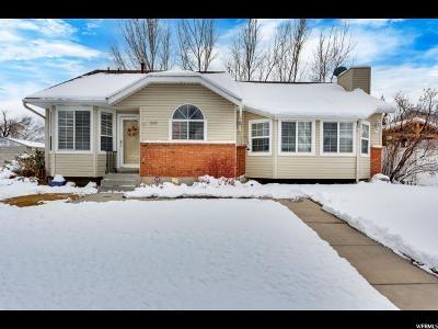 West Jordan Single Family Home For Sale: 3685 W 8850 S