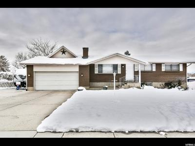 Sandy Single Family Home For Sale: 9626 S Flint Dr.